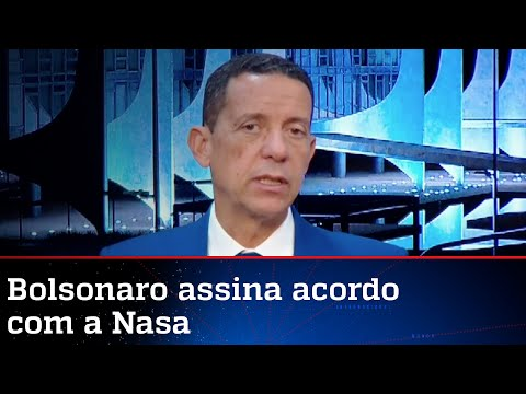 José Maria Trindade: Bolsonaro marca gol de placa em acordo com a Nasa