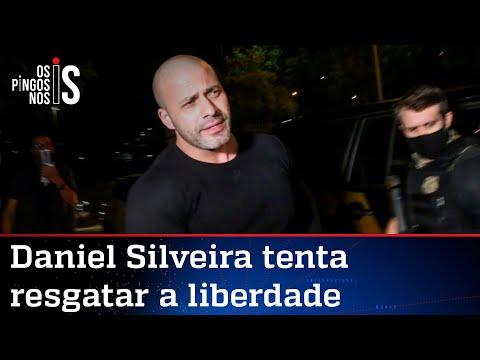 Daniel Silveira paga fiança e pede revogação da prisão