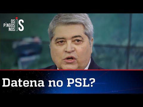 PSL acerta filiação de José Luiz Datena de olho em 2022