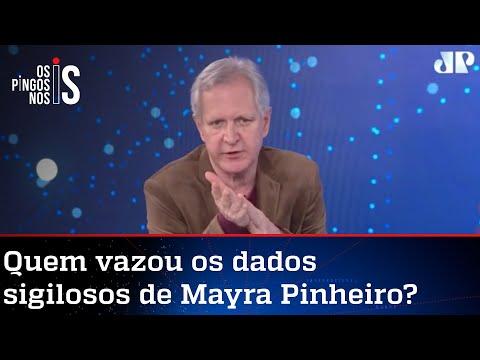 Augusto Nunes: Dra Mayra é perseguida pelo bom desempenho na CPI