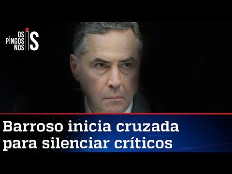 Barroso ordena perseguição nas redes a quem questionar transparência na eleição
