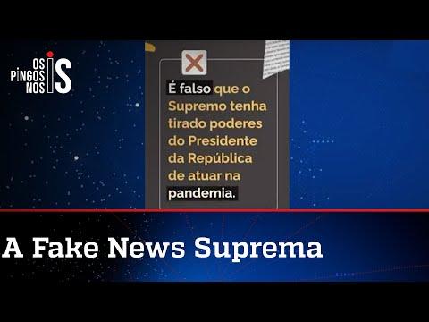 STF espalha desinformação no Facebook para atacar Bolsonaro