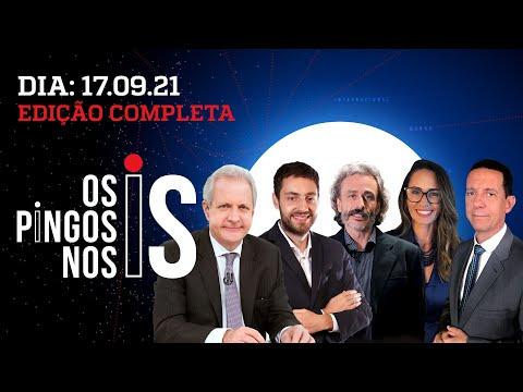 BOLSONARO NA ONU/ PT DELIRA SOBRE FACADA/ DATENA VICE DE CIRO? – Os Pingos Nos Is – 17/09/21