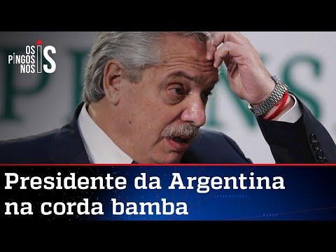 Argentinos vão às ruas contra governo socialista de Fernández