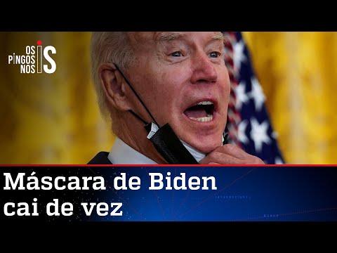 Após fiasco no Afeganistão, aprovação de Joe Biden derrete