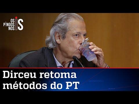 Dirceu volta à ativa para tentar eleger Lula