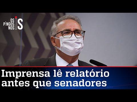 Vazamento de relatório feito por Renan racha G7 da CPI da Pandemia