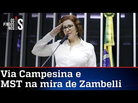 Zambelli denuncia à PGR atos terroristas no Brasil com envolvimento de organização internacional