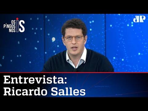 Ricardo Salles: A esquerda quer ser dona da pauta ambiental