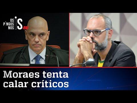 Alexandre de Moraes manda prender jornalista Allan dos Santos