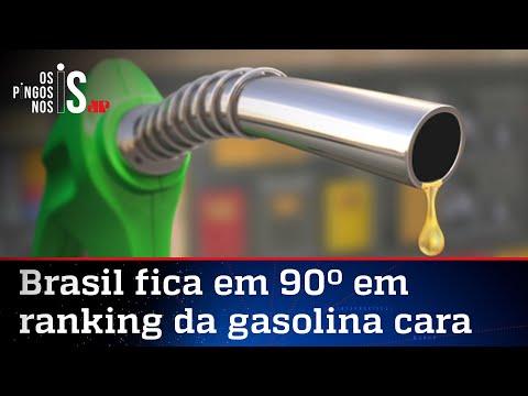 Apesar das críticas, 89 países têm a gasolina mais cara que o Brasil