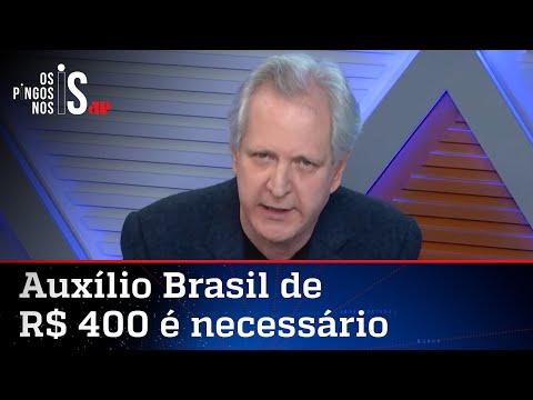 Augusto Nunes: Imprensa considera como medida eleitoreira tudo o que Bolsonaro faz