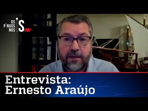 Ernesto Araújo: Oposição plantou imagem ruim de Bolsonaro e prejudicou o país no exterior