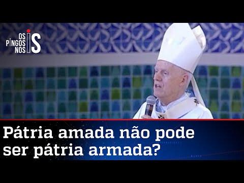 Arcebispo de Aparecida fala em desarmamento e critica fake news