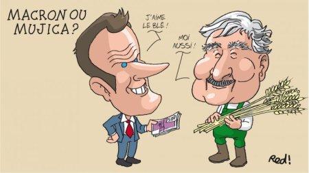 Le roi-président Macron est bien moins intéressant que le paysan-président Mujica
