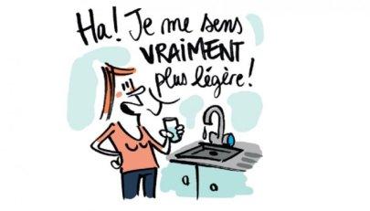 """<span class=""""caps"""">BD</span> - L'eau en bouteille<small class=""""fine""""></small>? Pour l'environnement, mieux vaut l'eau du robinet"""