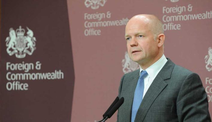 William Hague, actual secretário do Foreign & Commonwealth Office