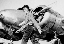 Photo of A vida de Amelia Earhart