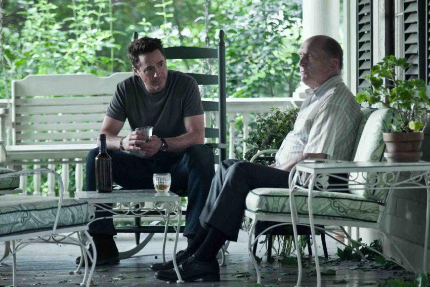 Robert Downey Jr. e Robert Duvall como pai e filho no filme O Juiz