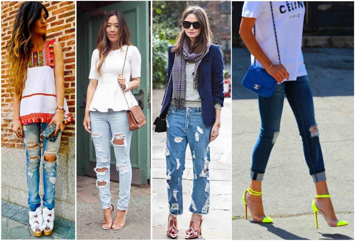Jeans rasgados!
