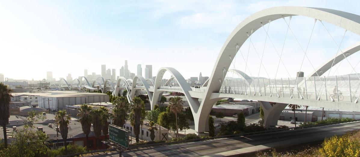 Imagem do novo viaduto