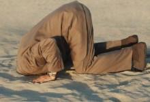 Photo of Política da cabeça na areia