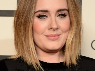 Adele resurfaced with a post message risk for life