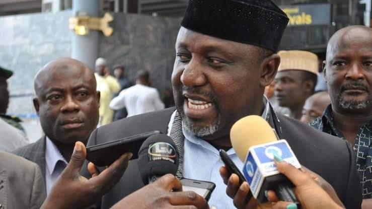 Hold Nnamdi Kanu Accountable If Anything Happens In Nigeria – Rochas Okorocha