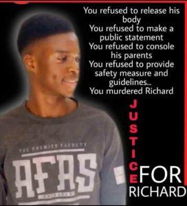 So Sad! UNIBADAN Student Dies In A Soap-Making Machine In Ibadan
