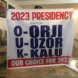 Orji Kalu Tell Your Members to get PVC ahead of 2023, Biafra is not possible, Support my Presidential Ambition - Orji Uzor Kalu tells Nnamdi Kanu