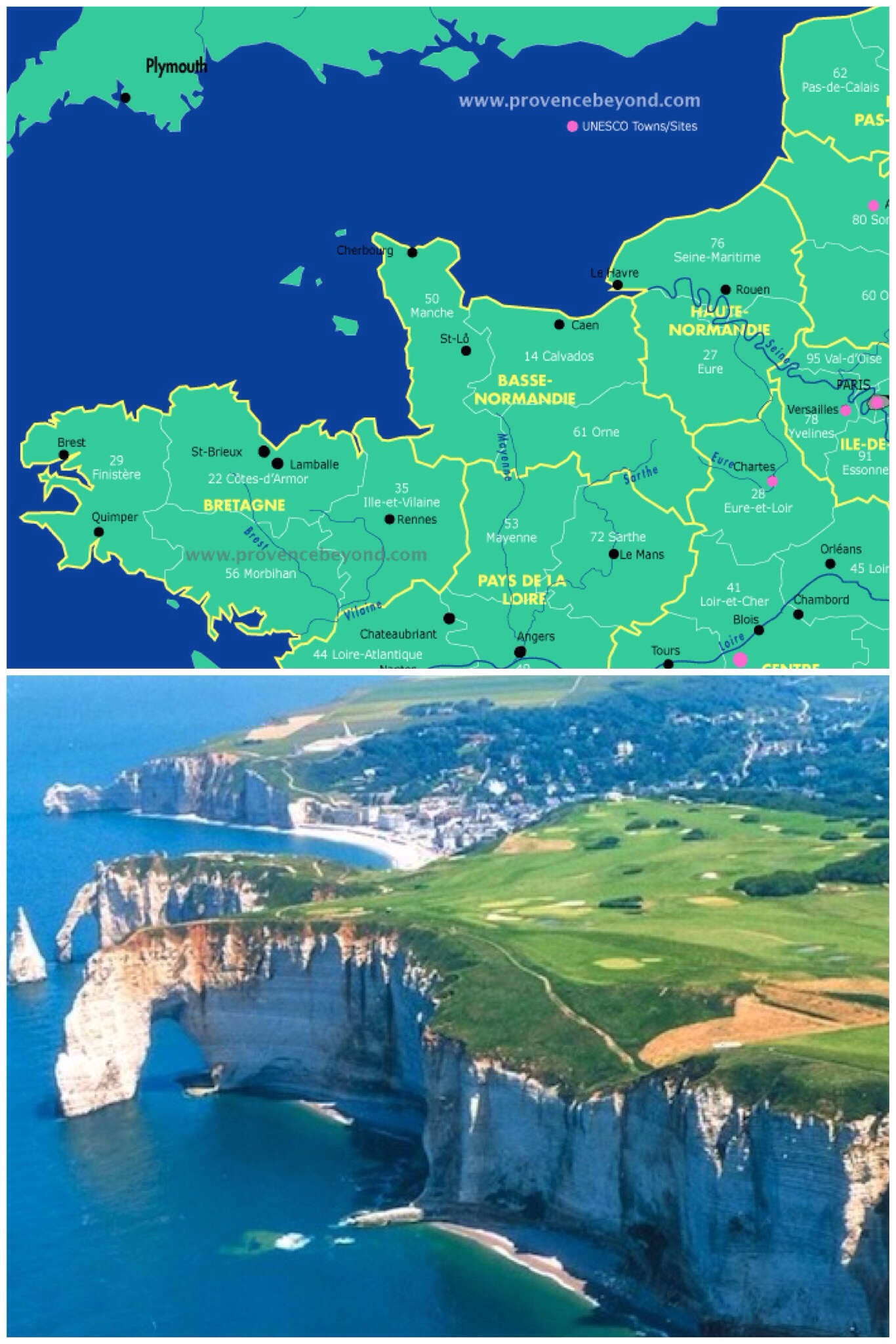 The Geography Of France