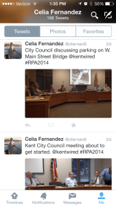 Tweets from the meeting