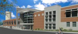 A rendering of what KSU's new art facility will look like once Van Deusen and the Art Annex are renovated.
