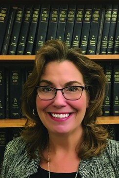 Headshot of Hope Jones, the Law Director for the city of Kent