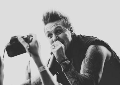 Papa Roach auf dem Nova Rock 2015 (Foto by Milena Zivkovic)