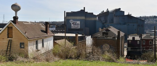 Home living in the steel mill's shadow