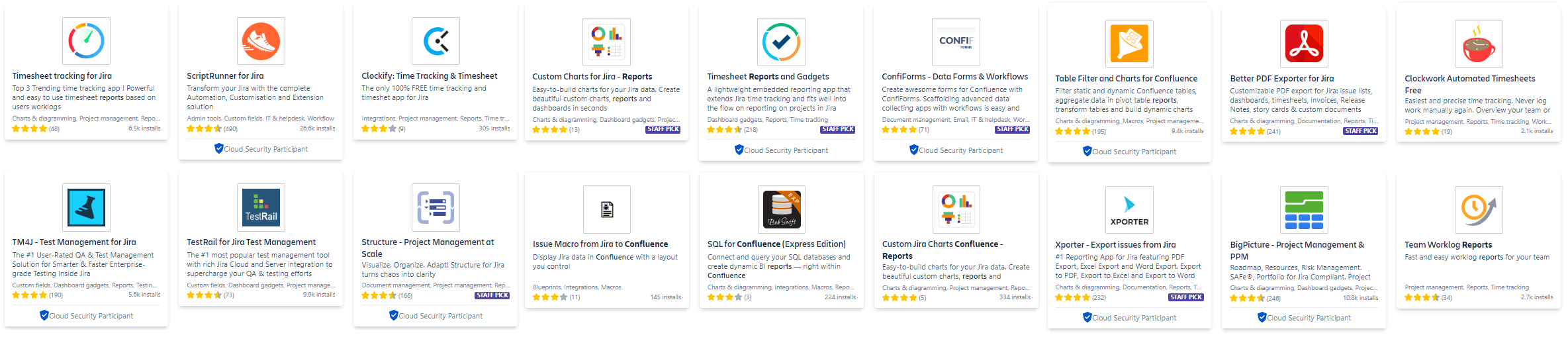 Reporting Jira Apps Atlassian Marketplace