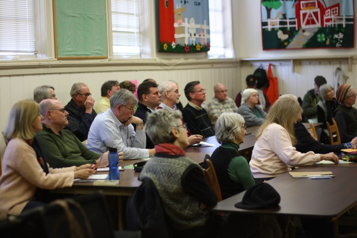 Nearly 30 concerned co-op members attended our Repower REC community forum Feb. 2 in Madison.