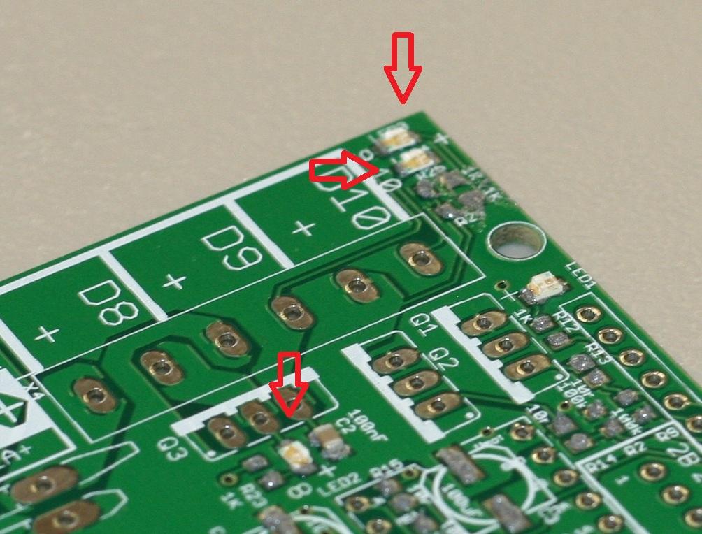 LED 9 auf Schaltplan