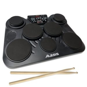 Alesis Compact Kit 7 | Portable 7-Pad Tabletop Electronic Drum Kit