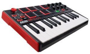 Akai Professional MPK Mini MKII | 25-Key Ultra-Portable USB MIDI Drum Pad & Keyboard Controller
