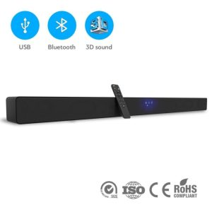 [NEW 2018] Wireless Sound Bar for TV with Bluetooth