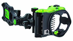 IQ Bowsights Micro 3, 5 or 7 Pin Compound Bow Archery Sight with Retina Lock Technology - Left and Right Hand