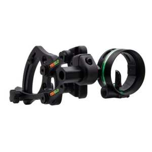 TRUGLO Range Rover Archer's Choice 1-Pin Sight with Light .019 Black