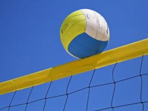 Volley Ball on Net