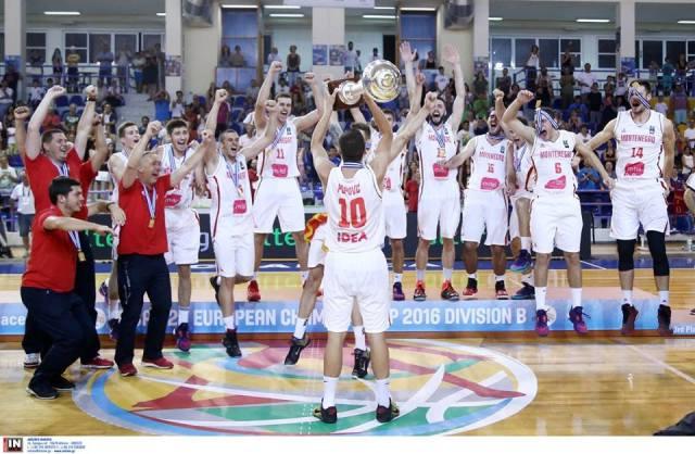 Mlada kosarkaska reprezentacija crne gore sampioni evropskog prvenstva