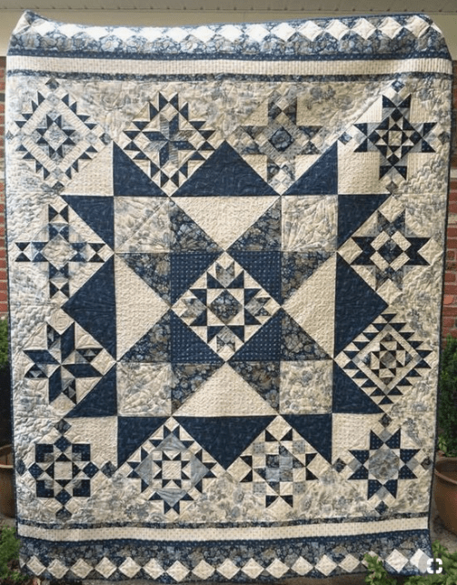 more traditional looking quilt