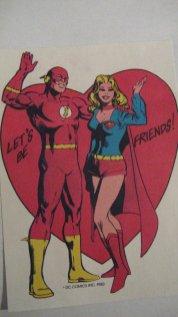 Flash-Supergirl
