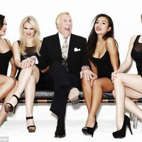 British Celebrities Posing Awkwardly With Glamour Girls