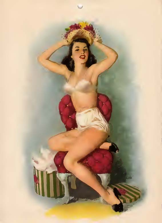 Esquire Glamour Gallery (1948) (Calendar)